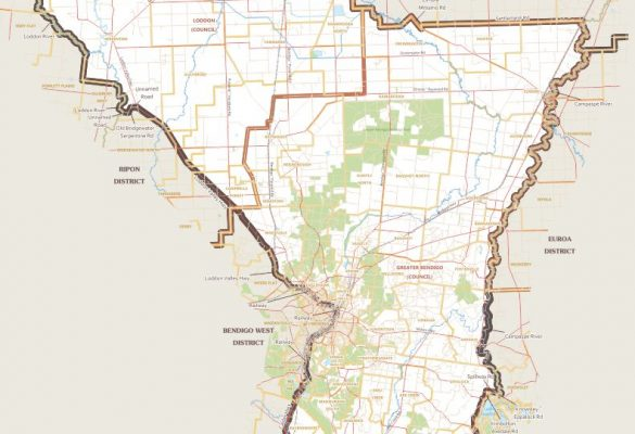 bendigo-east-map